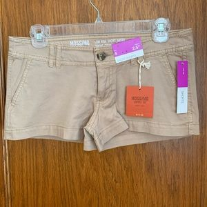 NWT Mossimo low rise short shorts